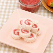 砂糖不使用 手作りいちごジャムサンドイッチ
